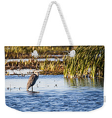 Heron - Horicon Marsh - Wisconsin Weekender Tote Bag