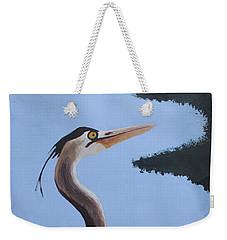 Heron In The Trees Weekender Tote Bag