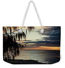 Heron Island Sunset  Weekender Tote Bag