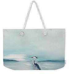 Heron Silence Weekender Tote Bag