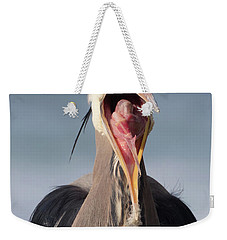 Heron With Attitude Weekender Tote Bag