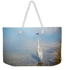 Heron's Watch Weekender Tote Bag by Gwen Vann-Horn