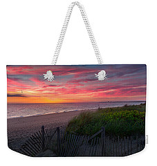 Herring Cove Beach Sunset Weekender Tote Bag