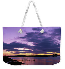Herring Weir, Sunset Weekender Tote Bag