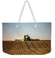 Herringbone Sowing Weekender Tote Bag