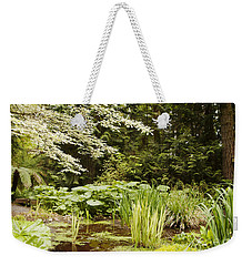 Herronswood Wetlands Weekender Tote Bag by Victoria Harrington