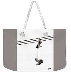 Hers Weekender Tote Bag by Linda Hollis