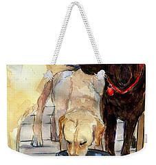 Hershey Kiss Weekender Tote Bag by Molly Poole