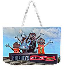Hershey's Chocolate World Sign Weekender Tote Bag