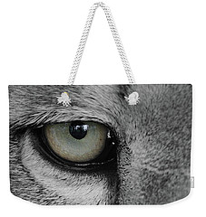 He's Watching Me  Black And White  T O C Weekender Tote Bag