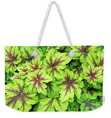 Heucherella Art Nouveau Leaves Weekender Tote Bag