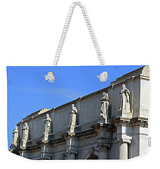 Hey Is That Joe Biden One Statue Said To Another At Union Station Weekender Tote Bag