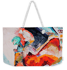 Hey Mr. Spaceman Weekender Tote Bag
