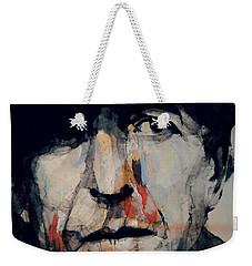 Hey That's No Way To Say Goodbye - Leonard Cohen Weekender Tote Bag