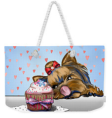 Hey There Cupcake Weekender Tote Bag