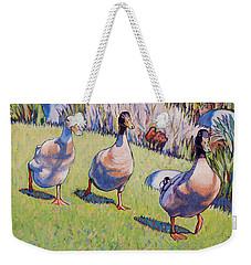 Hey, Wait Up Weekender Tote Bag