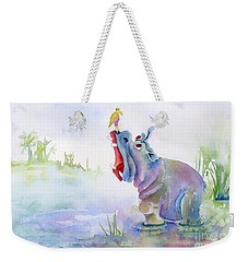 Hey Whats The Big Idea Weekender Tote Bag by Amy Kirkpatrick