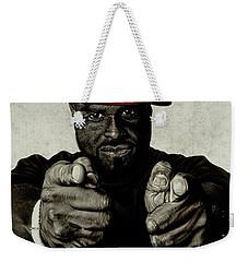 Hey You- Funk Flex Weekender Tote Bag