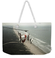 Hh-52a Beach Patrol Weekender Tote Bag by Steven Sparks