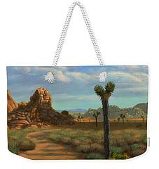 Hi Desert Road Weekender Tote Bag