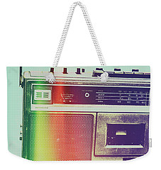 Hi-fi Pop Weekender Tote Bag