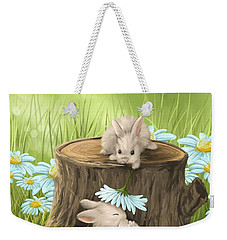 Hi There Weekender Tote Bag by Veronica Minozzi