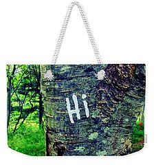 Hi Weekender Tote Bag