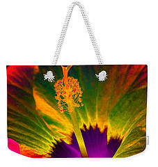 Hibiscus 01 - Summer's End - Photopower 3189 Weekender Tote Bag