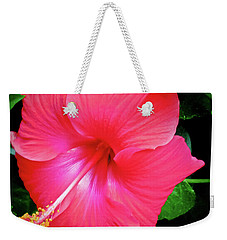 Hibiscus Blossom Weekender Tote Bag
