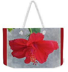 Hibiscus Dreams Weekender Tote Bag