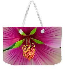 Hibiscus Face Weekender Tote Bag
