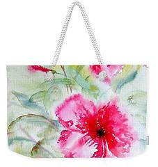 Hibiscus Fantasy Weekender Tote Bag