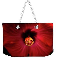 Hibiscus Weekender Tote Bag by Jay Stockhaus