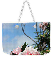 Weekender Tote Bag featuring the photograph Hibiscus Mutabilis II by Beth Vincent