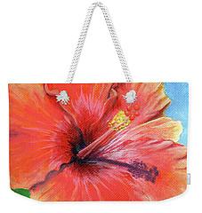 Hibiscus Passion Weekender Tote Bag