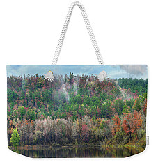 Hickory Forest Weekender Tote Bag