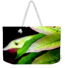 Hickory Leaf Weekender Tote Bag