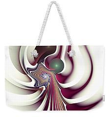 Weekender Tote Bag featuring the digital art Hidden Agenda by Anastasiya Malakhova