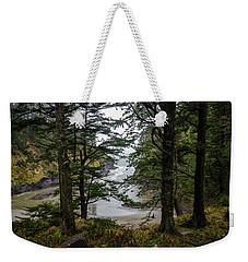 Hidden Beach Weekender Tote Bag