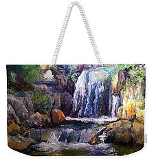 Hidden Beauty Weekender Tote Bag by Gail Kirtz