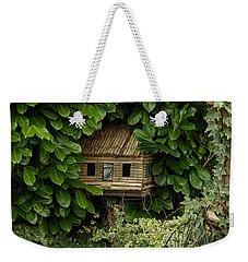 Hidden Birdhouse Weekender Tote Bag