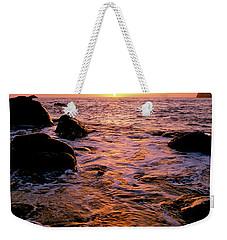 Hidden Cove Sunset Redwood National Park Weekender Tote Bag