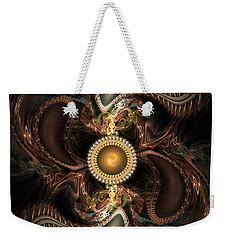 Weekender Tote Bag featuring the digital art Hidden by Ester Rogers