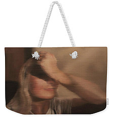 Hidden Gaze Weekender Tote Bag by Cherise Foster