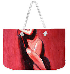 Hidden Heart Weekender Tote Bag