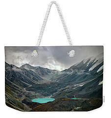 Weekender Tote Bag featuring the photograph Hidden In Denali by Rick Berk