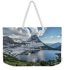 Hidden Lake Weekender Tote Bag by Alpha Wanderlust