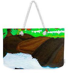 Hidden Paradise Weekender Tote Bag