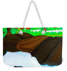 Hidden Paradise Weekender Tote Bag by Lorna Maza