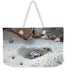 Hidden Shells On Bimini Beach Weekender Tote Bag